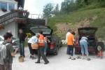 Izlet in nabiranje gob-Gabrovka 2012